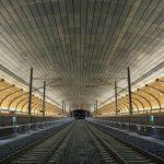 Afbouw Station Holmestrand Noorwegen