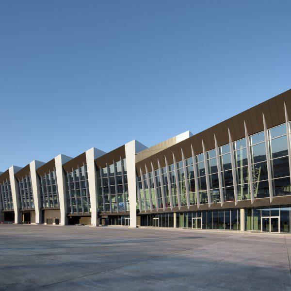 Gevelbeplating Brussel Airport Connector